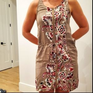 Line and Dot floral dress